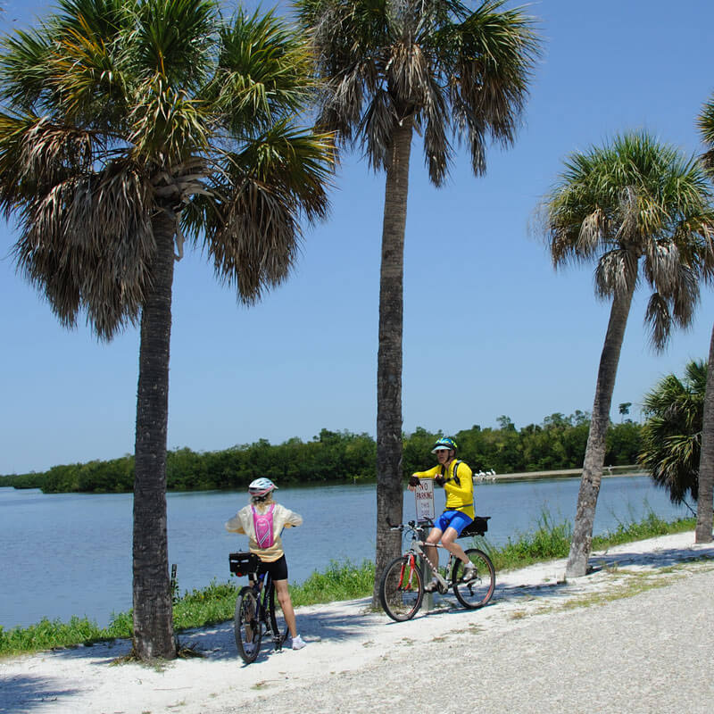 Bicycle activites on Sanibel Island